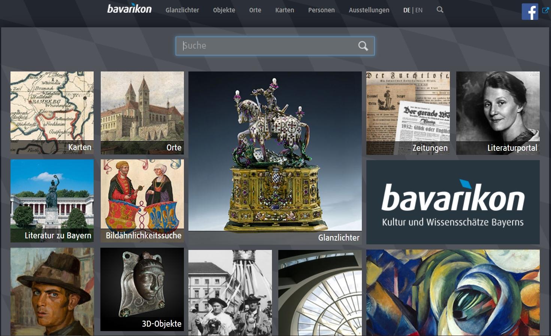 Bavarikon Startseite